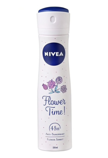 Nivea Deodorant spray anti transpirant flower time (150 ml)
