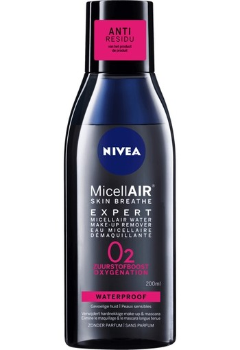 Nivea Micellair expert micellair water make up remover (200 ml)