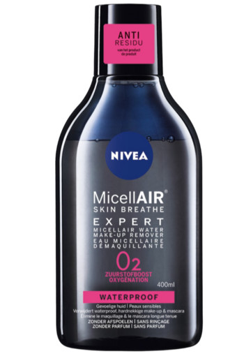Nivea Micellair expert make up remover water (400 ml)