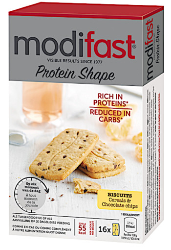 Modifast Protein Shape Biscuits Cereals & Chocolate Chips