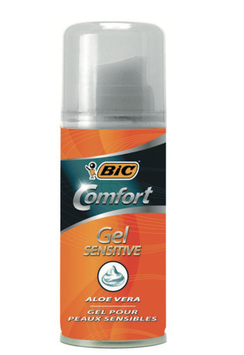 BIC Scheergel comfort sensitive (75 ml)
