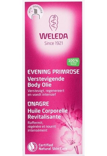 Weleda Evening primrose verstevigende body olie (100 ml)
