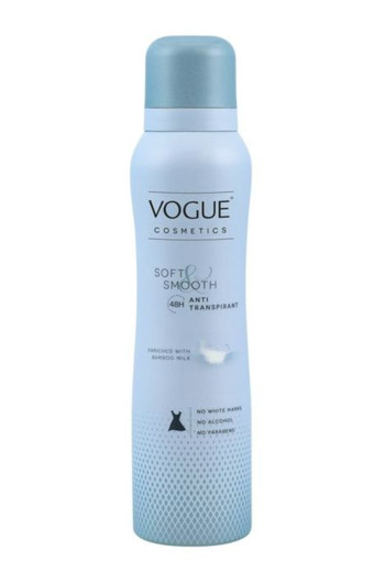Vogue Cosmetics Anti transpirant soft & smooth (150 ml)