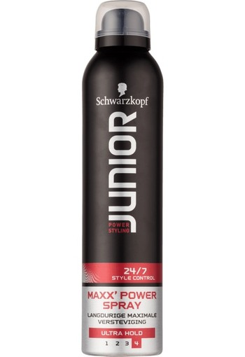 Schwarzkopf Junior Power Styling Maxx Hold Hairspray 250ml