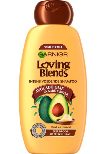 Garnier Loving Blends - Avocado Olie & Karité boter - Shampoo 300ml