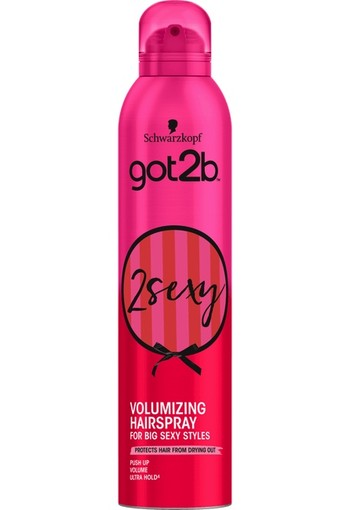 Schwarzkopf Got2B 2 Sexy Big Volume Hairspray 300 ml