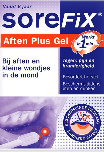 Sorefix Aften plus gel potje (7 ml)
