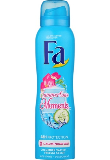 FA Deodorant spray summertime moments (150 ml)