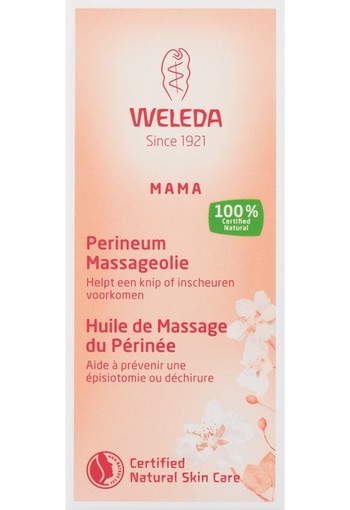 Weleda Mama Perineum Massage Olie 50 ml