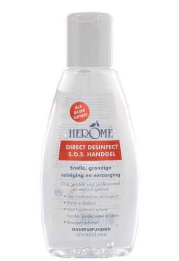 Herome Direct desinfect ongeparfumeerd sensitive (75 ml)