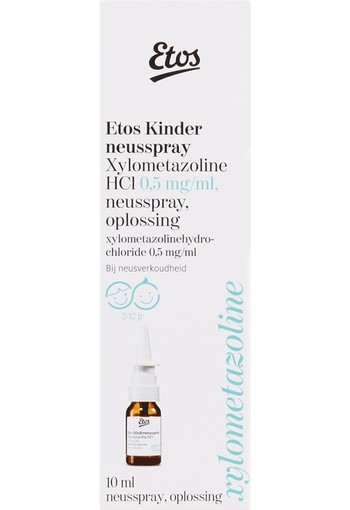 Etos Kin­der­neus­spray 2-12 jaar  10 ml