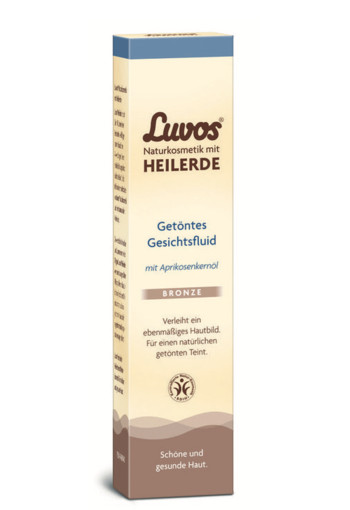 Luvos Dagcreme gekleurd medium (50 ml)