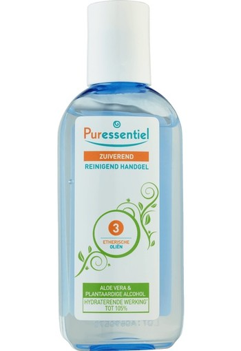 Puressentiel Zuiverende gel 3 essentiele olien (80 ml)