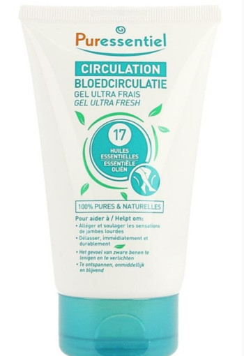 Puressentiel Bloedcirculatie ultra fresh gel (125 ml)
