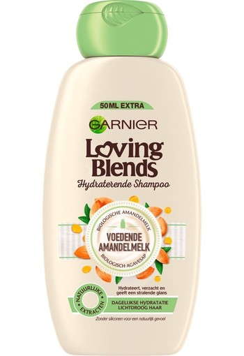 Garnier Loving blends shampoo amandel (300 ml)