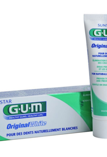 GUM Original white tandpasta (75 ml)