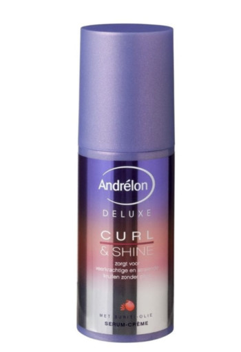 Andrelon Serum creme deluxe curl & shine (100 ml)