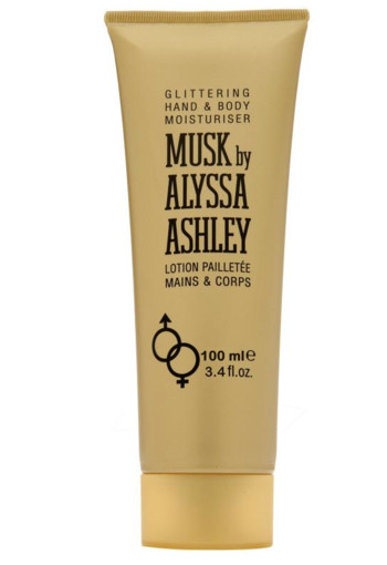 Alyssa Ashley Musk glitter lotion (100 ml)