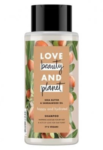 Love beauty and planet happy and hydrated shampoo 400ml