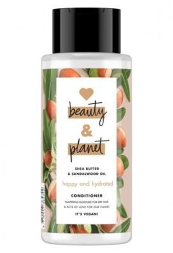 Love beauty and planet happy and hydrated conditioner 400ml