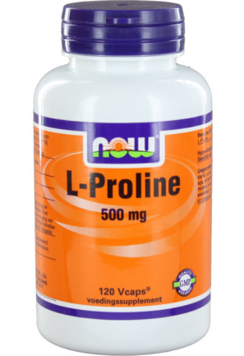 Now L-proline 500 Mg 120vc