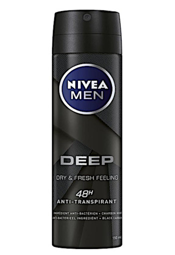 Nivea Men Deep Deodorant Spray 150ML