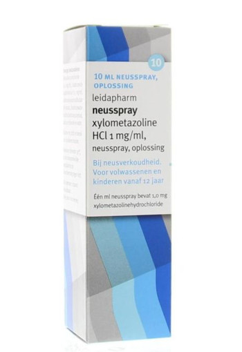 Leidapharm Xylometazoline HCI 0.1% spray (10 ml)
