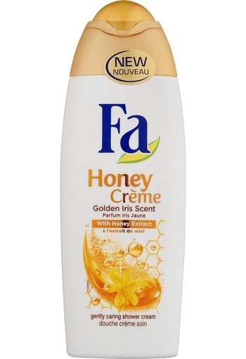 Fa Honey Crème Caring Shower Cream 250 ml