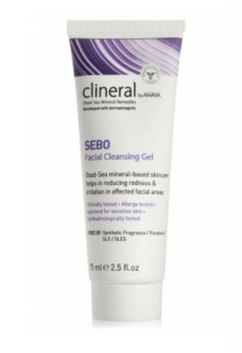 Ahava Clineral sebo cleansing gel (75 ml)