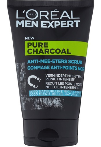 L'Oréal Paris Men Expert Pure Charcoal Scrub 100 ml