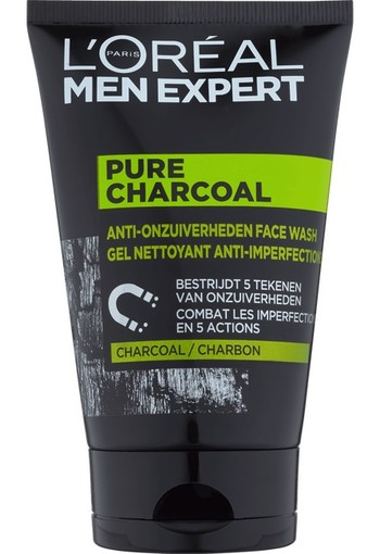 L'Oréal Paris Men Expert Pure Charcoal Wash 100 ml