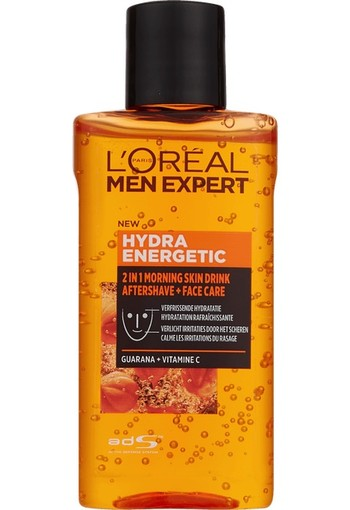 L'Oréal Paris Men Expert 2 in 1 Morning Skindrink 125 ml