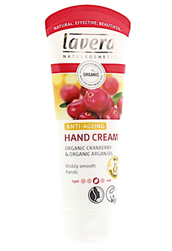 Lavera Handcreme/hand cream anti-ageing cranberry argan (75 ml)