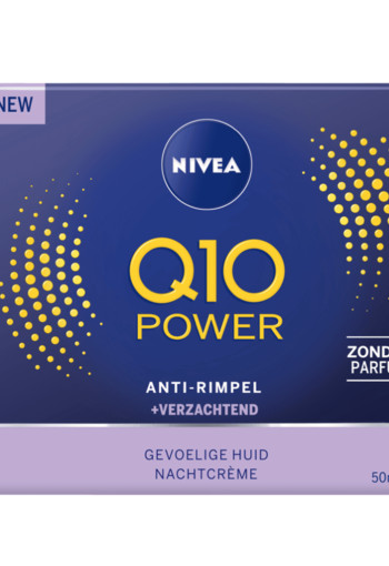 Nivea Q10 Power nachtcreme sensitive 50 ml
