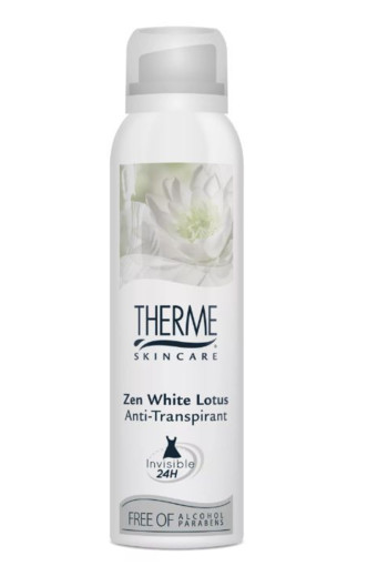 Therme Anti-transpirant deodorant white lotus 150 ml