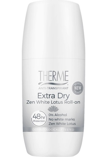Therme Zen White Lotus Extra Dry Anti Transpirant Roller 60 ml