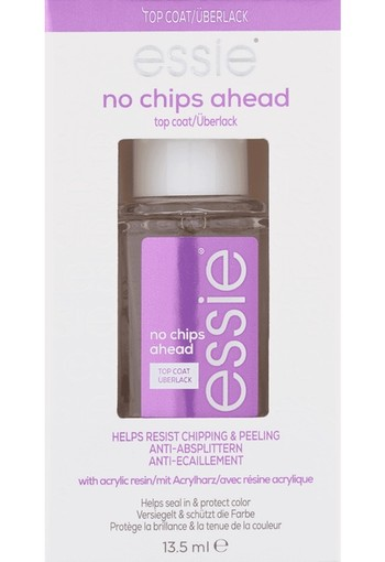 Essie No Chips Ahead Topcoat 13,5 ml