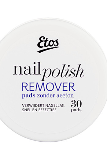 Etos Na­gel­lak re­mo­ver pads  50 ml