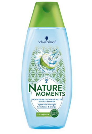 Schwarzkopf Nature moments shampoo coconut water (250 ml)