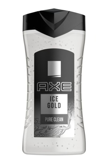 AXE Shower gel ice gold fresh wood & mountain air (250 ml)