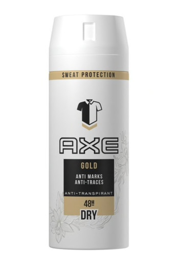 AXE Deodorant spray anti transpirant gold (150 ml)