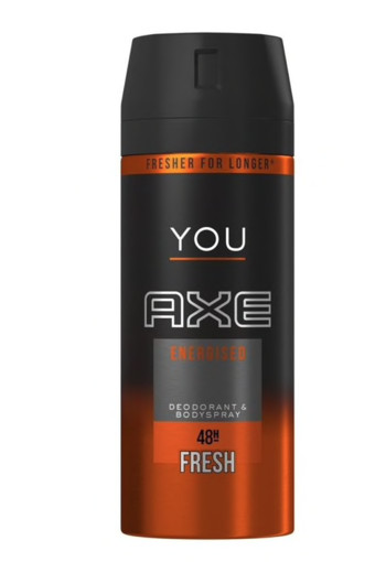 AXE Deodorant spray energized (150 ml)