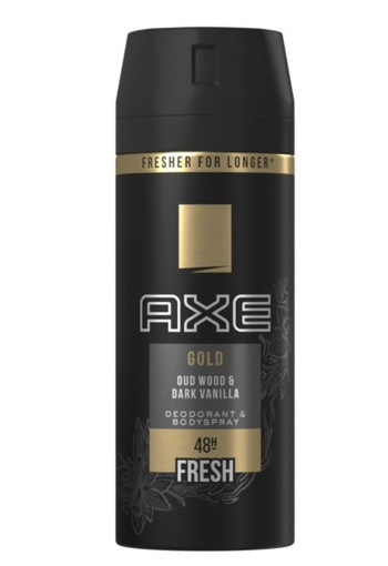 AXE Deodorant bodyspray gold (150 ml)