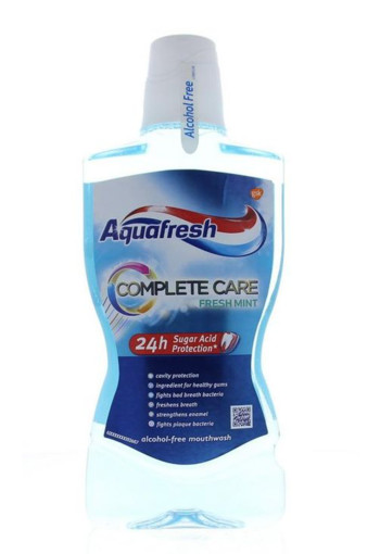 Aquafresh Mondwater complete care (500 ml)