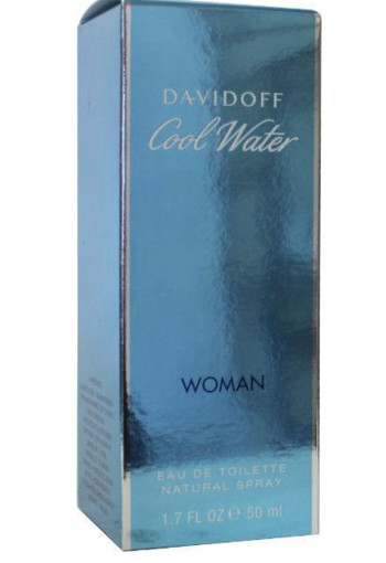 Davidoff Cool water woman eau de toilette (50 ml)