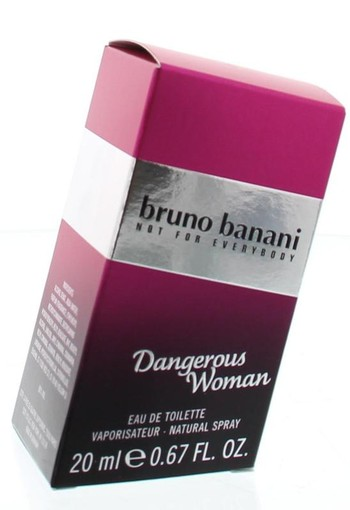 Bruno Banani Danger woman eau de toilette 20 ml