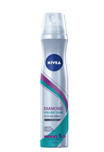 Nivea Styling spray diamond volume care (250 ml)