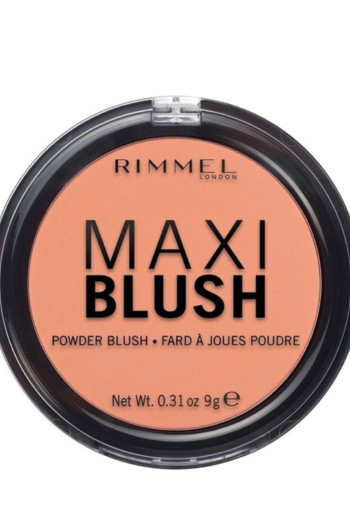 De Rimmel Maxi Blush 004 Sweet Cheeks Powder Blush