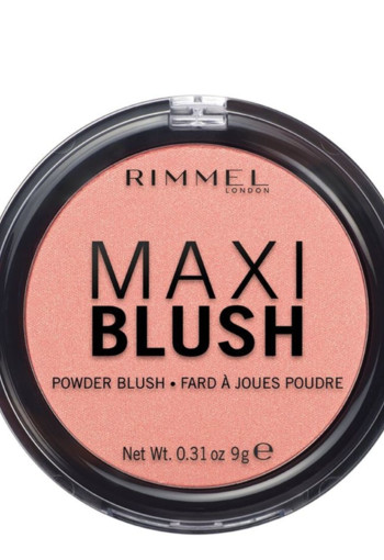 De Rimmel Maxi Blush 001 Third Base Powder Blush