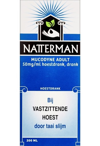 Natterman Mucodyne Adult 50 mg/ml Hoestdrank 200 ml
